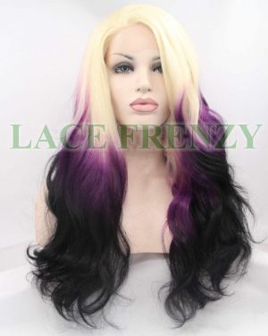 Amethyst- Ombre' - Loose Wave - Lace Front Wig