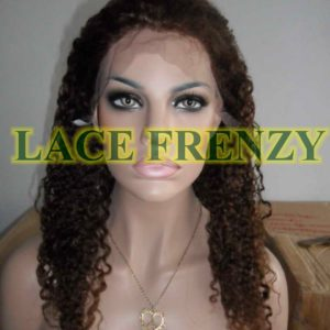 Mimi- 18 Inches- Indian Remy Hair- Afro Curl - Lace Front Wig