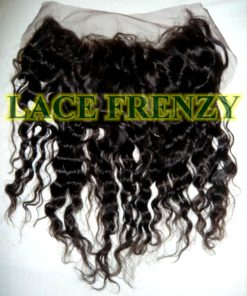 "13X4 "" - Deep Wave - Brazilian Virgin Hair Lace Frontal"