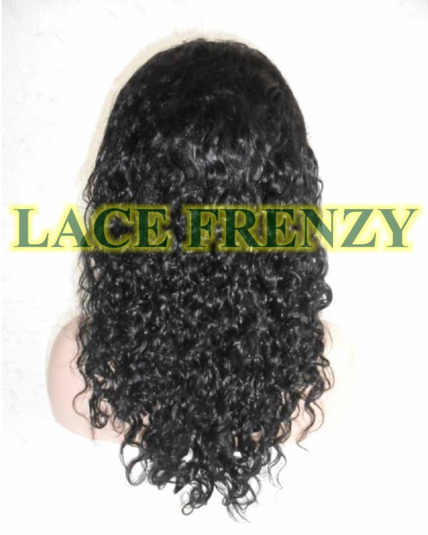 Wavy Indian remy lace front wig