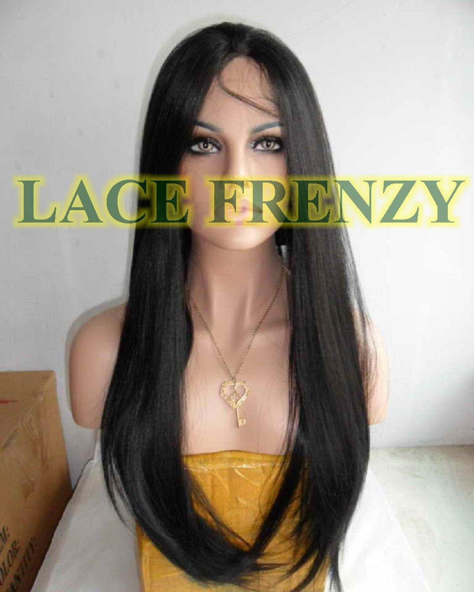 Darla - 22 Inches - Indian Remy Hair- Silky Straight - Lace Front Wig