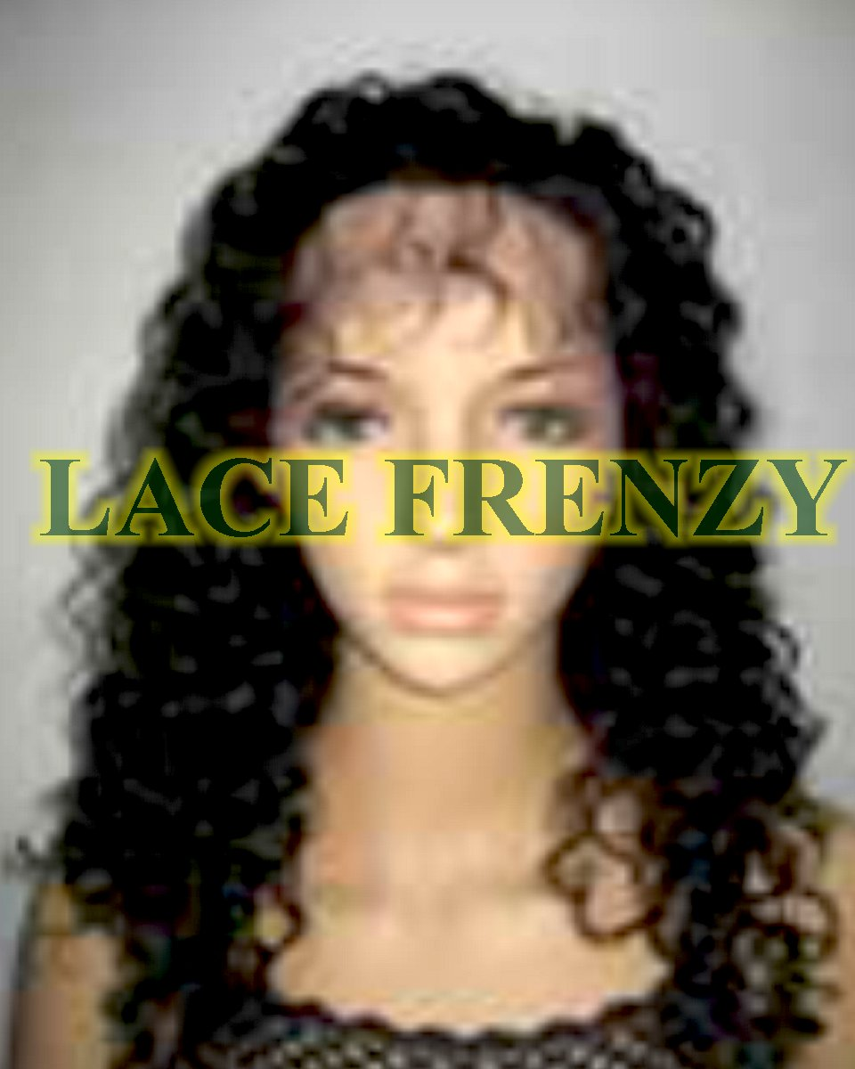 Manuela - 16 Inches - Indian Remy Hair- 1.5cm Curl - Lace Front Wig