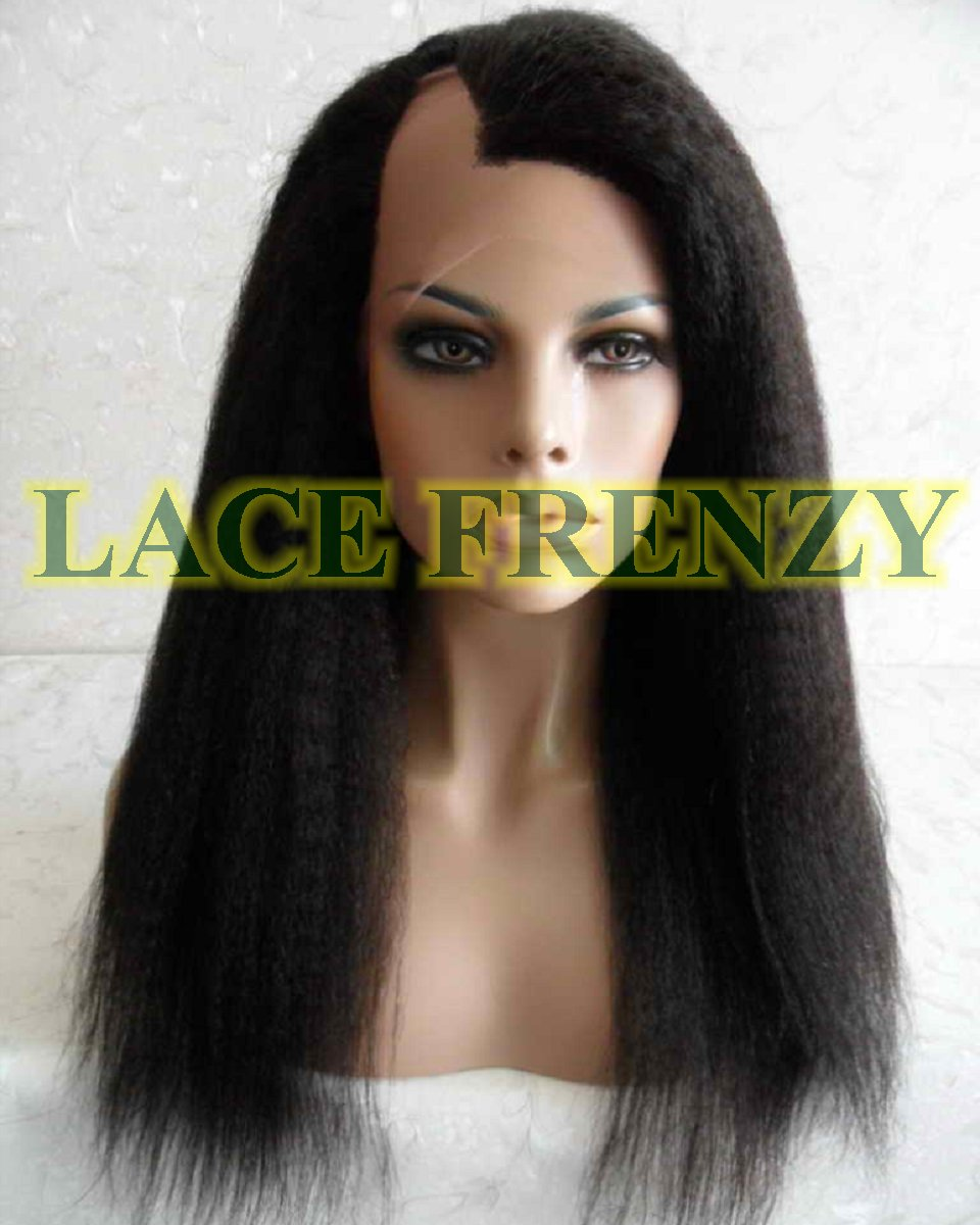 Raquel - Indian Remy Hair - Kinky Straight - UPart Wig