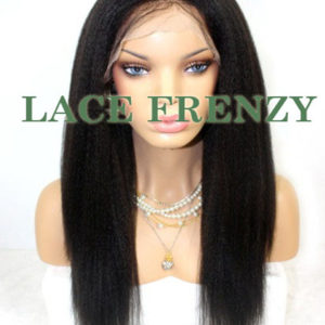 Nova - Indian Remy Hair - High Yaki - Full Lace Wig
