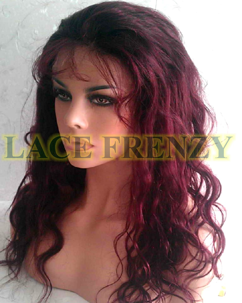 Molly - 18 Inches- Indian Remy Hair -Body Wave - Lace Front Wig