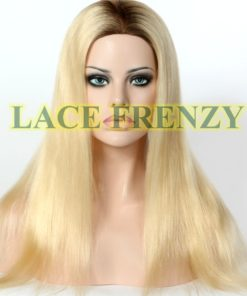 Pamela - Straight - European Virgin- Silk Top Glueless Lace Wig