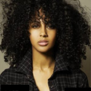 Royce - Brazilian Virgin - Tight Curls - Glueless Full Lace Wig