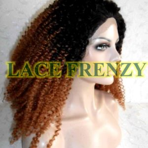 Ally - 20 Inches - Afro Curl - Lace Front Wig