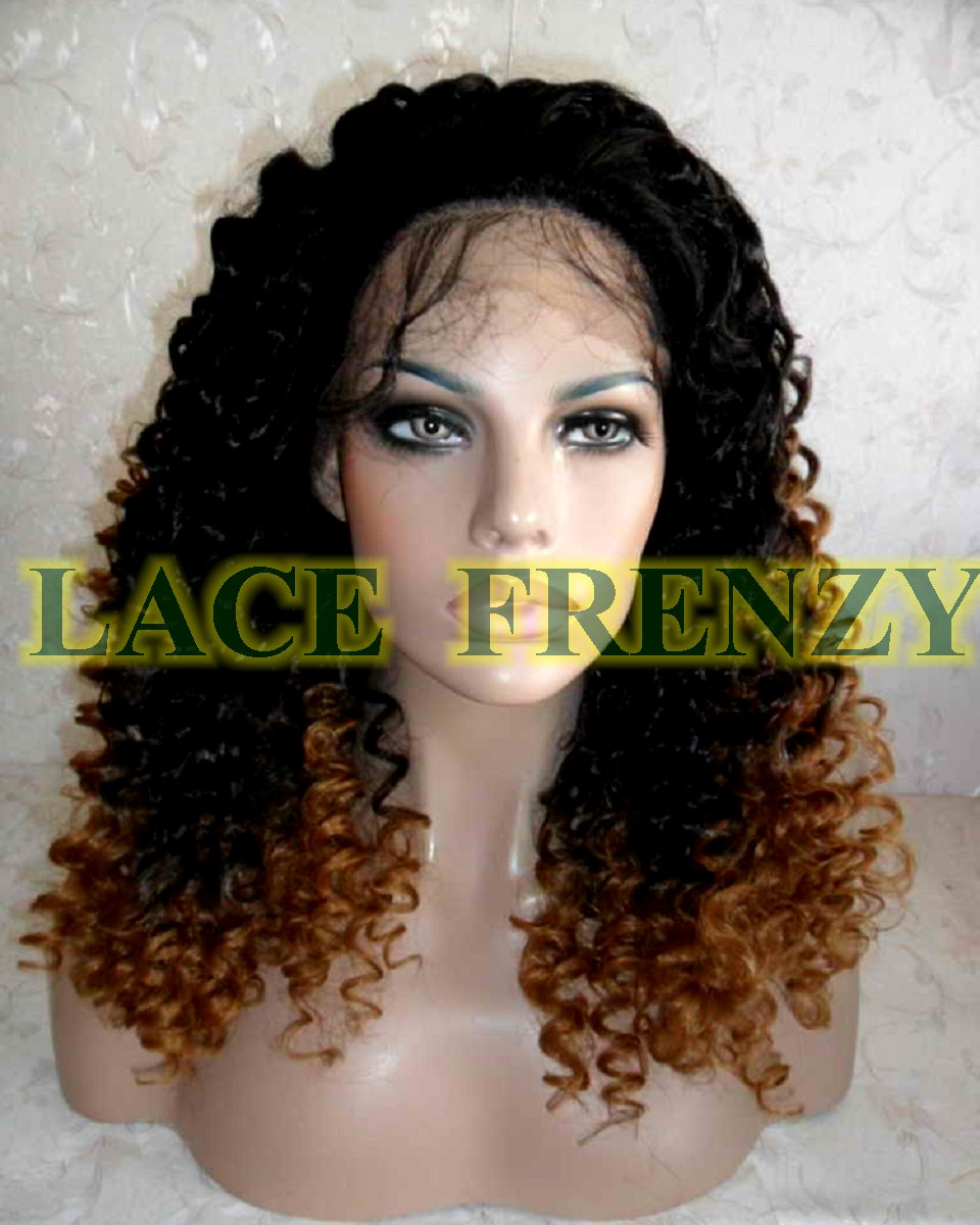 Alegria - 18 Inches - TToned - Spiral Curls - Lace Front Wig