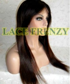 Balinda - 18 Inches- Indian Remy Hair - Soft Yaki - Lace Front Wig