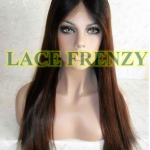 Balinda - 18 Inches - Indian Remy Hair - Soft Yaki - Lace Front Wig