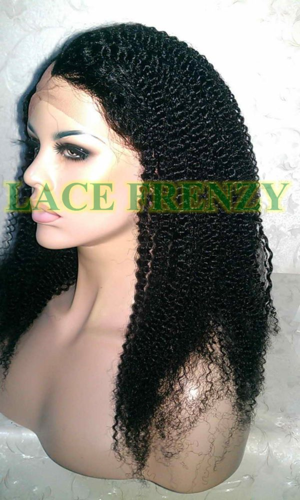 Cassidy - Indian Remy Hair - Afro Curl - 18 Inches - Upart Lace Wig