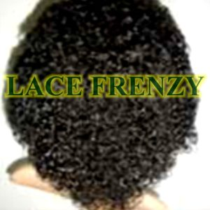 Indian Remy human hair Afro kinky lace front wig