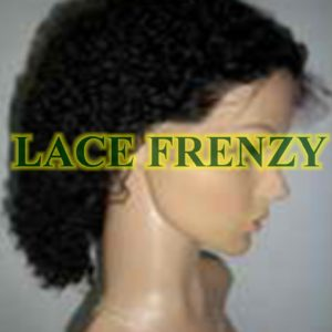 Samaya - Afro Kinky - Indian Remy - Lace Front Wig