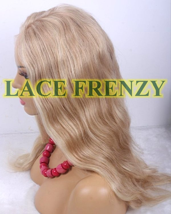 Hailey - 18 Inches- Natural Wavy - European Virgin - Full Lace Wig