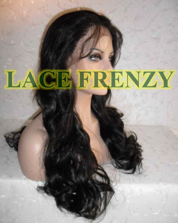 Ivy - 20 Inches - Flip Curl - Lace Front Wig