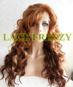 May - 20 Inches - Body Curl - Two Toned w/ Side Bang- Lace Front Wig