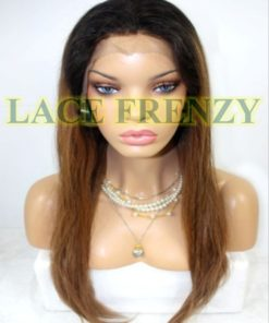 Nelly- Ombre'- Indian Remy Hair - Full Lace Wig