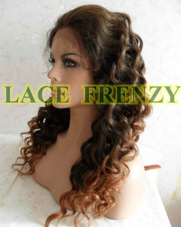 Sonia - 18 Inches Two Toned - Lace Front Wig