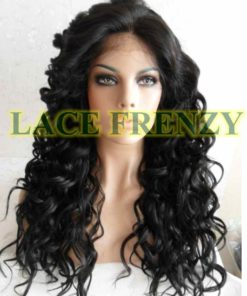 Sybil - 20 Inches - Curly - Lace Front Wig