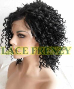 Tiffany - 14 Inches- Tight Curls- Lace Front Wig