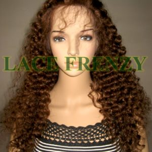 Valney- 22 Inches - Indian Remy Hair- Royal Curls - Lace Front Wig