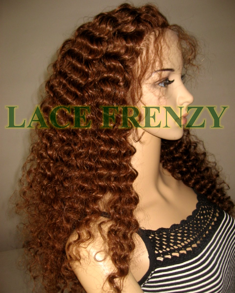 Valney - 22 Inches - Indian Remy Hair- Royal Curls - Lace Front Wig