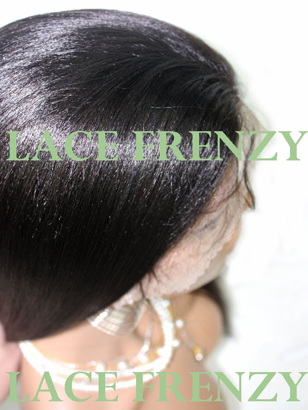 Holly - Straight - Indian Remy Hair - Full Lace Wig