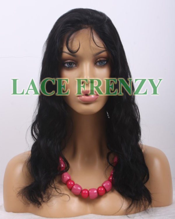 Michele - 16 Inches - Indian Remy Hair - Wavy - Lace Front Wig