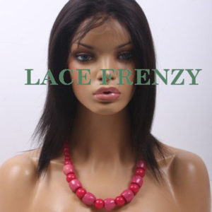 Sofia - 12 Inches - Yaki Straight- Full Lace Wig