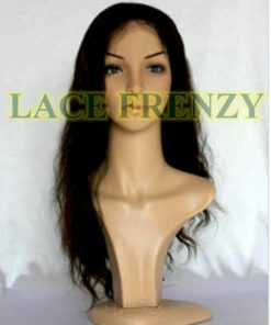 Melanie - Malaysian Virgin Hair - Wavy - Full Lace Wig