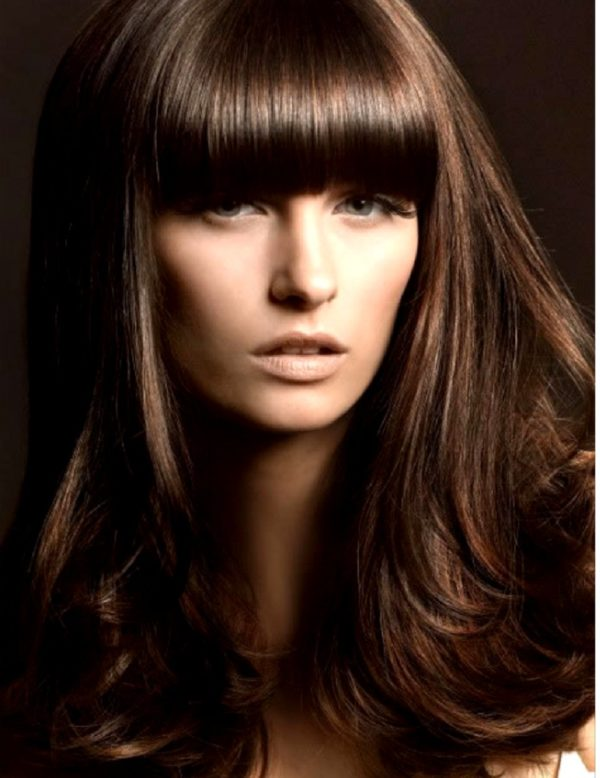 4X3 Inches - Brazilian Virgin - Natural Straight - Clip-in Bang Hair Extension