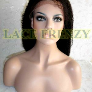 Lydia - 18 Inches - Afro Curl - Lace Front Wig