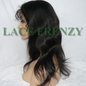 Samantha - Natural Straight - Silk Top Full Lace Wig