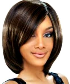 4X3 Inches - Brazilian Virgin - Side Swept - Clip-in Bang Hair Extension