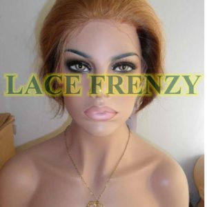 Indian remy human hair Mary j bilge replica lace front wig
