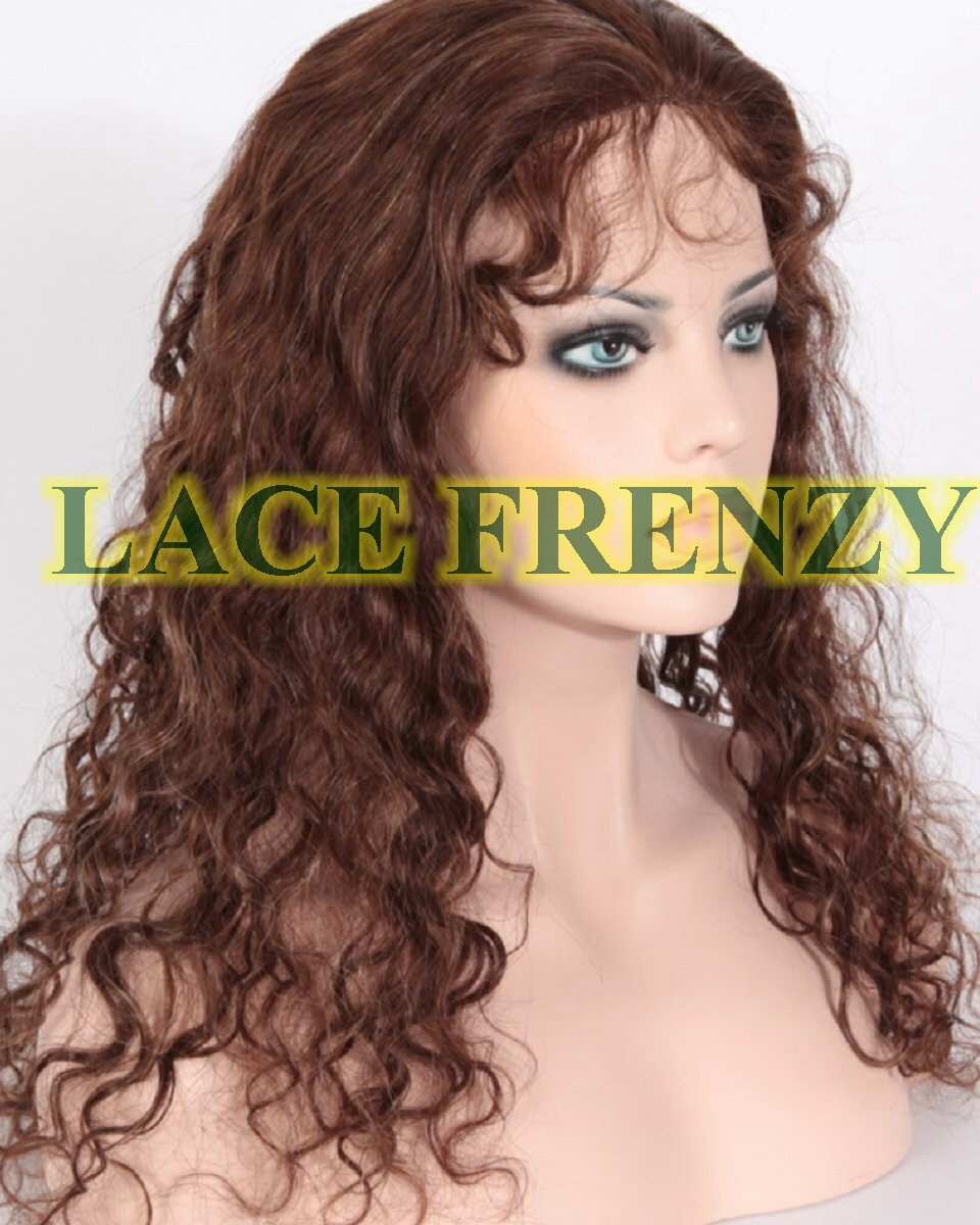 Candice - Brazilian Virgin Hair - Silk Top Glueless Lace Wig