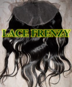 13X4 Inches- Unprocessed Virgin Hair - Natural Wavy - Lace Frontal
