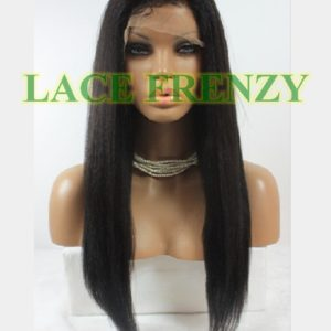 Diamond - 22 Inches - High Yaki - Full Lace Wig