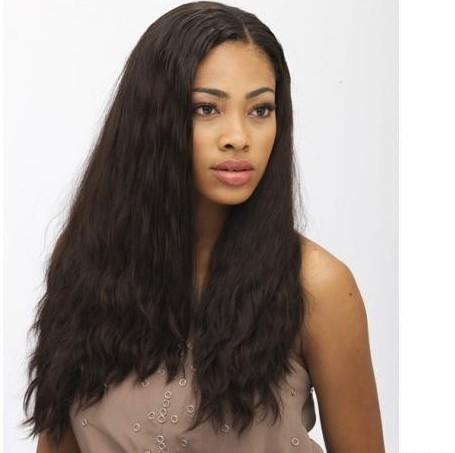 Custom Brazilian Virgin Hair - Natural Straight - Full Thin Skin Wig