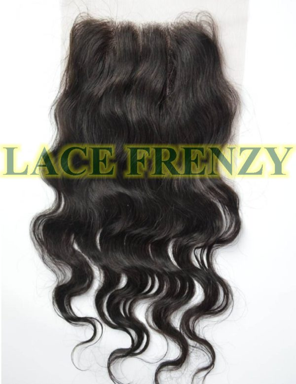 3.5X4 Inches -Body Wave - Top Closure