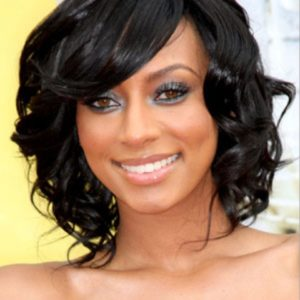Keri Hilson - 10 Inches - Body Wave - Lace Front Wig Replica
