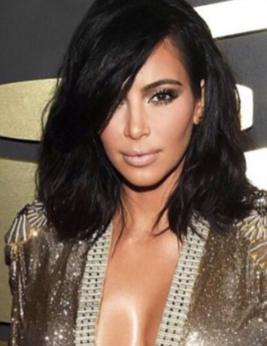 KIm Kardashian - Bob Cut - Custom Celebrity Lace Wig