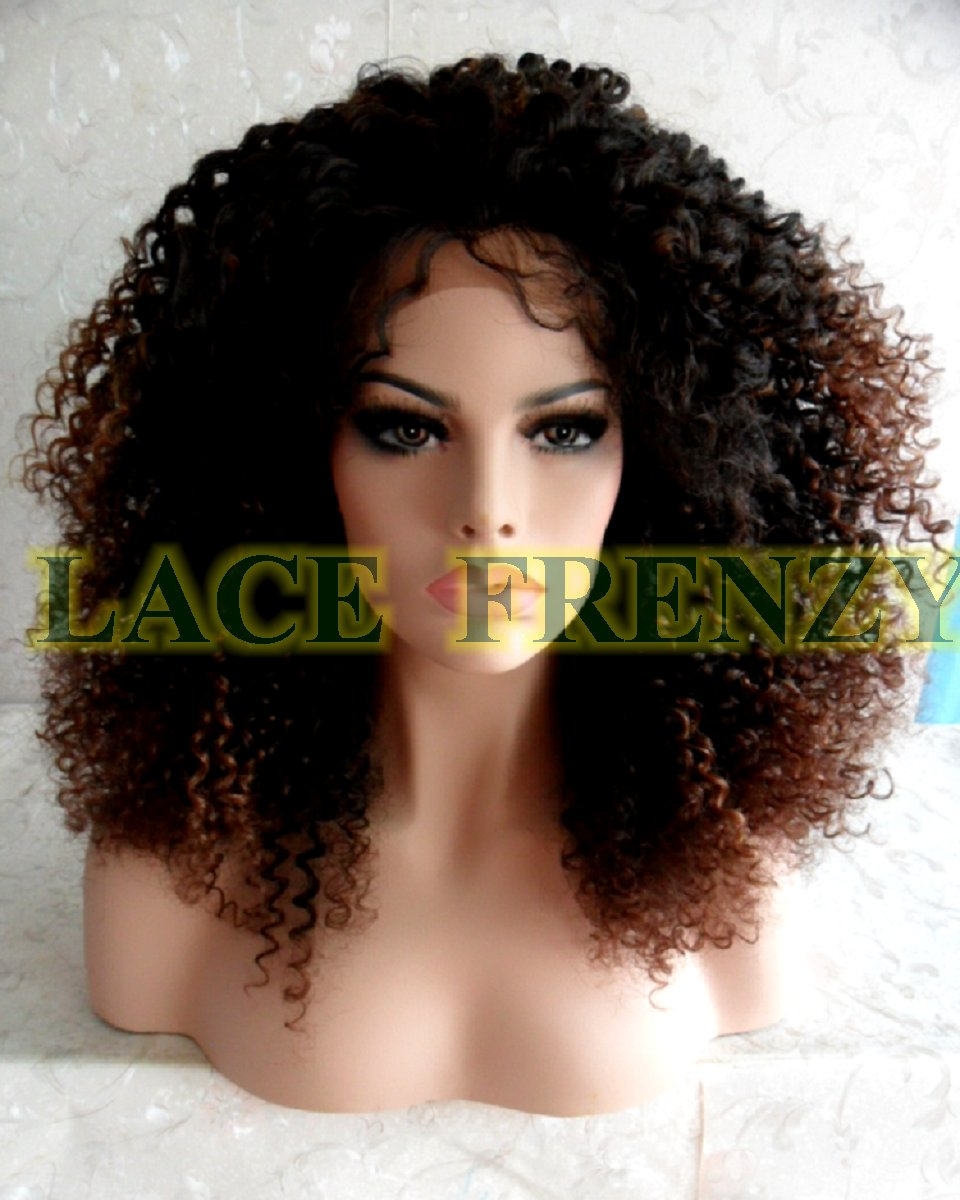 Carla - 14 Inches - Afro Kinky - Lace Front Wig