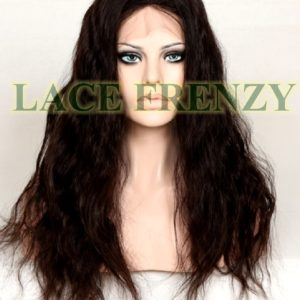 Cora - 16 Inches - Brazilian Virgin Hair- Silk Top Full Lace Wig