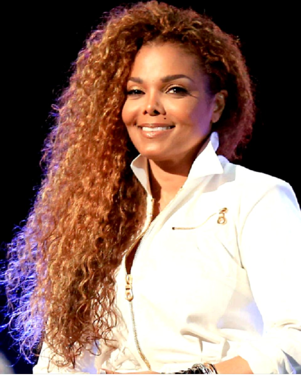 Janet Jackson Curls Custom Celebrity Lace Wig