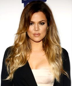 Khole Kardashian - TToned - Custom Celebrity Lace Wig