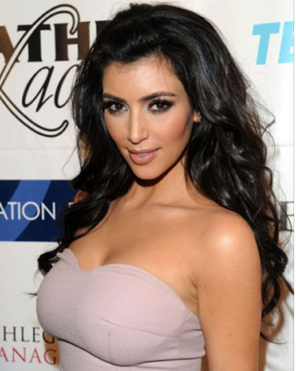 Kim Kardashian - Big Curls - Custom Celebrity Lace Wig