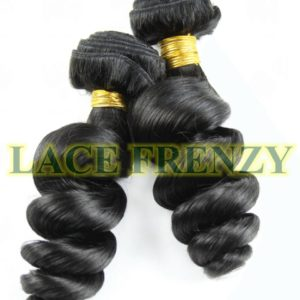 Grade 6a virgin loose wave machine weft
