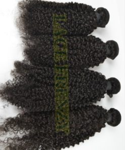 Peruvian virgin kinky curl pound hair bundle